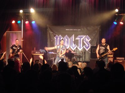 AC/DC: Volts appearing at DD8 Music's Bon Scott Statue fundraiser in Kirrie Town Hall. Sound by audioWAVE, lighting by Joe Hawke.