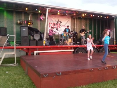 CRUK Kirriemuir Relay for Life Sound and Lighting Rig with Sonnet 65