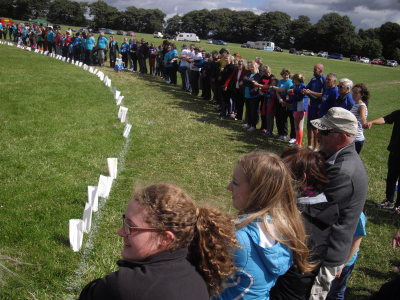 Cancer Research UK (CRUK) - Kirriemuir Relay for Life: Closing remarks and thanks