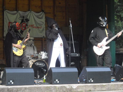 DD8 Music Live in the Den 2013 Darth Elvis and The Imperials