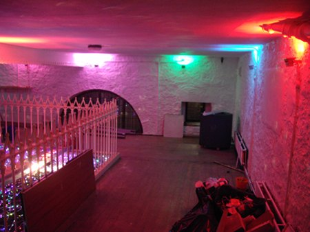 Balcony Bar Dundee Ward Road new mood lighting installed by Stevie C
