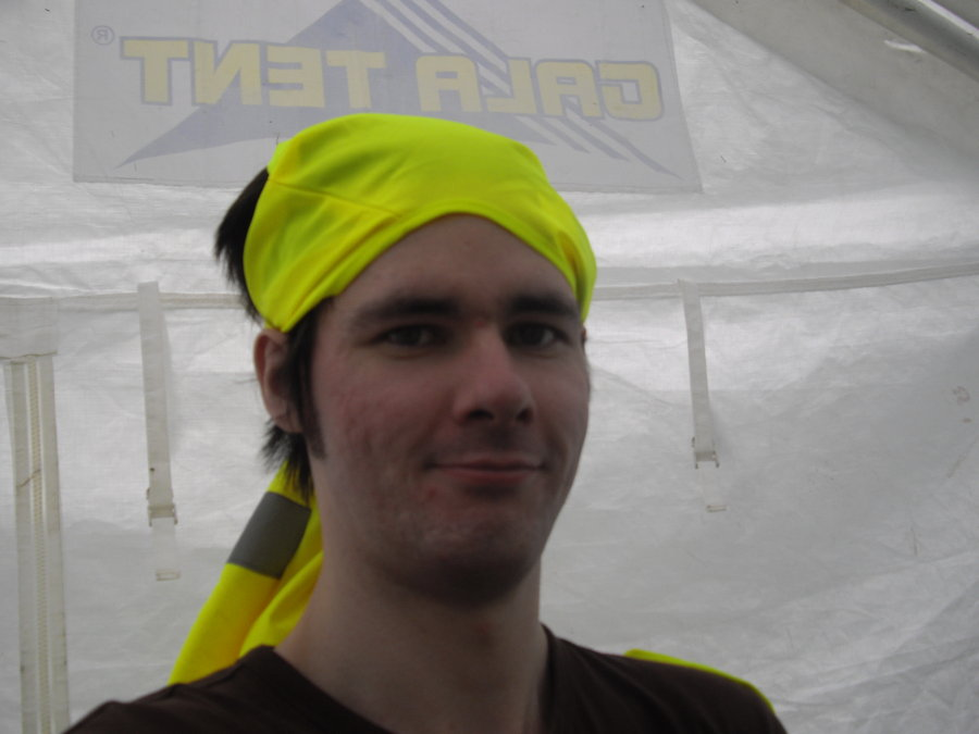 Graham told me that as I was at LITD with DD8 Music, I had to wear a hi-viz vest. He Didn't specify how or where.