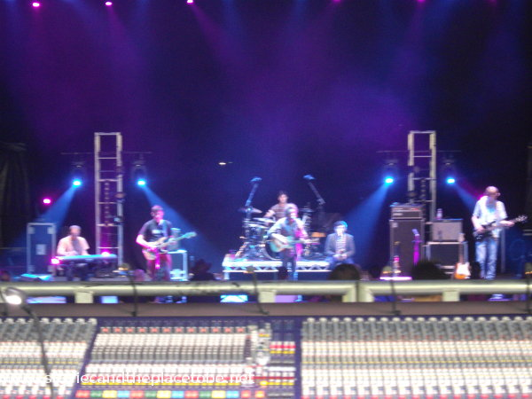 View from Front-of-house at HebCelt Fest 2014