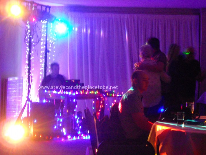 Stevie C & DJ Ross at The Ship Inn in Newburgh providing sound and disco lights hire for a charity function