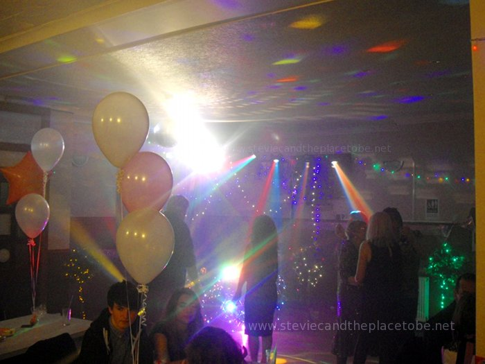 50th Birthday Party Celebration Event at The Burnside Inn Alyth. Sound, Lights and Music by Stevie C and DJ Ross.