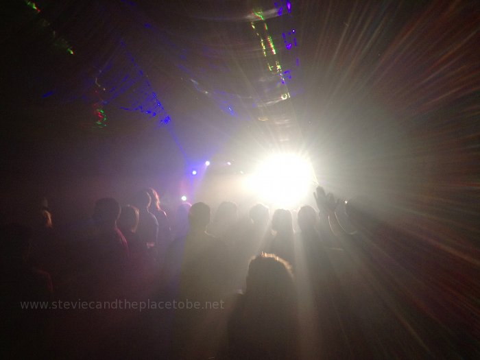 Roots House/Rave getting off to a blinding start at Mains Castle wedding & function hall Dundee. Blinding lights by Stevie C.