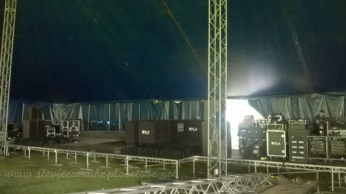 Heb Celt Fest 2016 backstage sound and stage