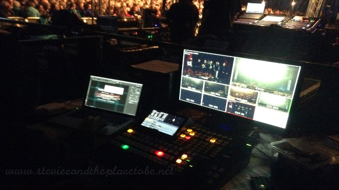 Heb Celt Fest 2016 backstage video and vision mixing