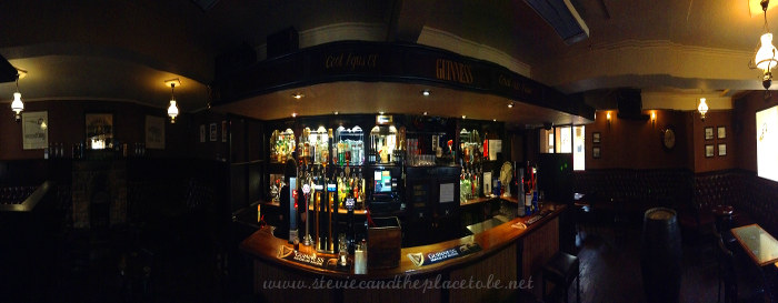 Interior of McNeill's Bar Stornoway Panoramic pub photo