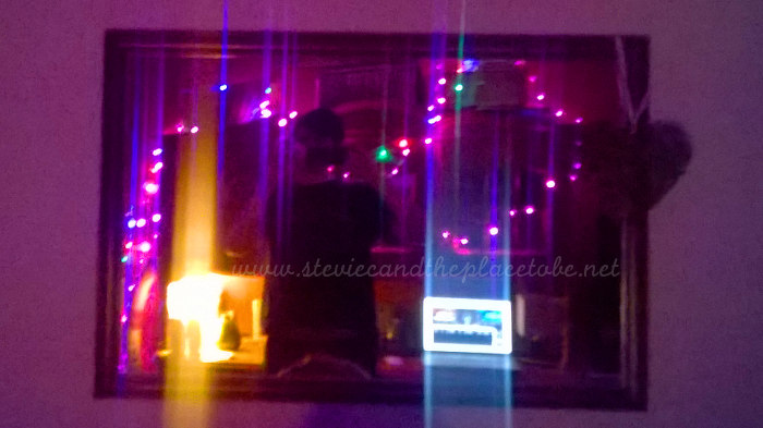 After-party with Stevie's fairy lights and LED lights