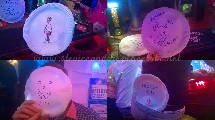 Salty Dog Dundee 5th Birthday Party: some rather funny and rude party plates