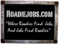Stevie C's RoadieJobs Profile