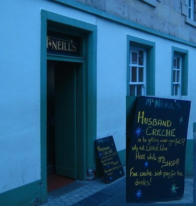 McNeills Bar - Husband Creche Stornoway