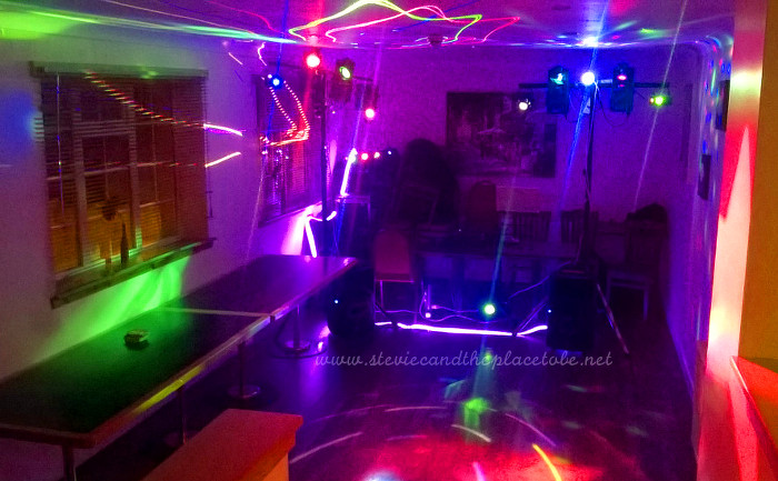 DJ Ross and Stevie C play a function disco for a Birthday Party in The Invergowrie Inn