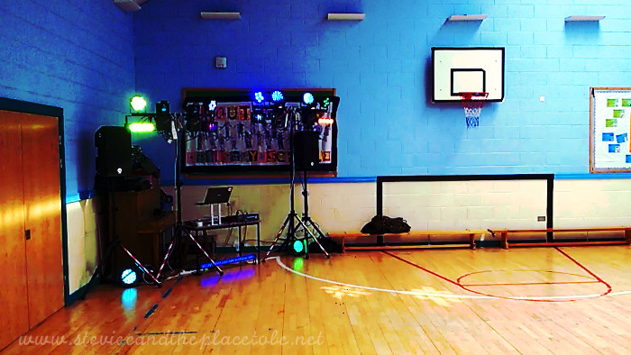 Graham from DD8 Music DJing at Southmuir Primary School Leaving Disco 2017