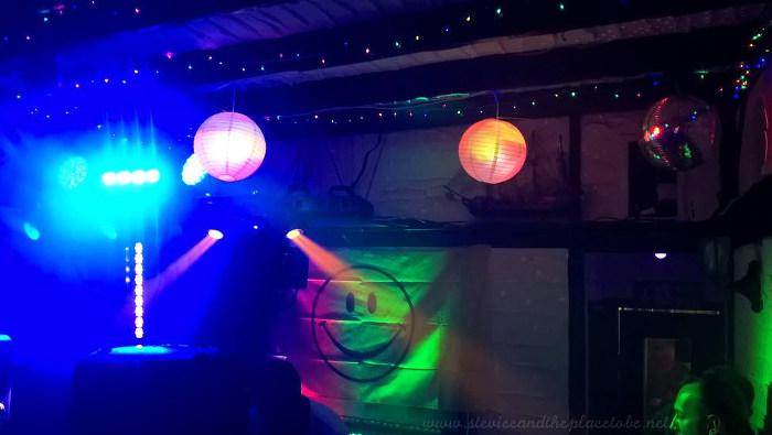 Dundee Dance Event 2017 hosted by The Salty Dog Dundee. Disco scans, strobe lighting and festoon lighting by Stevie C.
