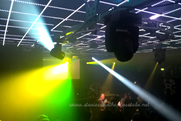 audioWave Sound Hire provided a D&B sound system for a rave in the Ice Factory Perth