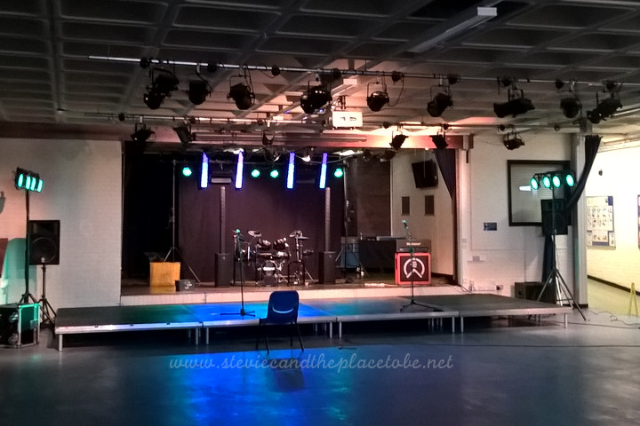 audioWave Sound Hire provided PA and Lighting for a School Show in Monifieth