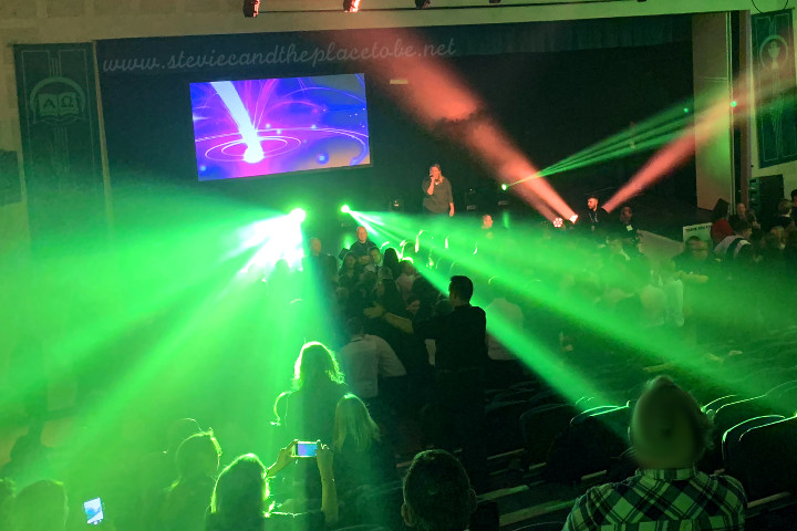 AML provided event production services for Safe Drive Stay Alive - a road show aimed at raising awareness of road safety. Intelligent moving heads and strobe lighting supplied for the disco, with AV, cameras and projection supplied for the presentation.