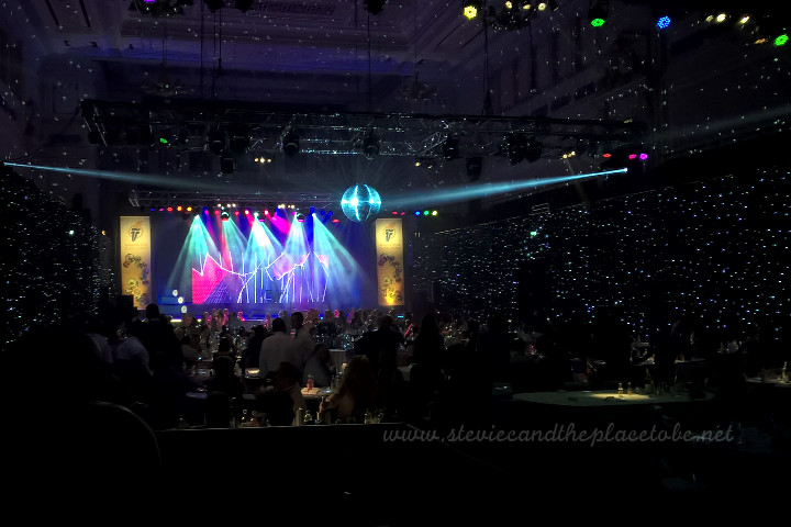 AM Lighting (now AML Event Hire) provided a mirror ball, intelligent lighting, cameras and AV projection and event production services for the Tayside Contracts Awards for Excellence in The Caird Hall in Dundee.
