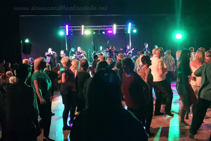 Audiowave provided PA hire, sound engineering and a lighting rig with DMX control for Festival of Soul - part of Dundee Dance Event