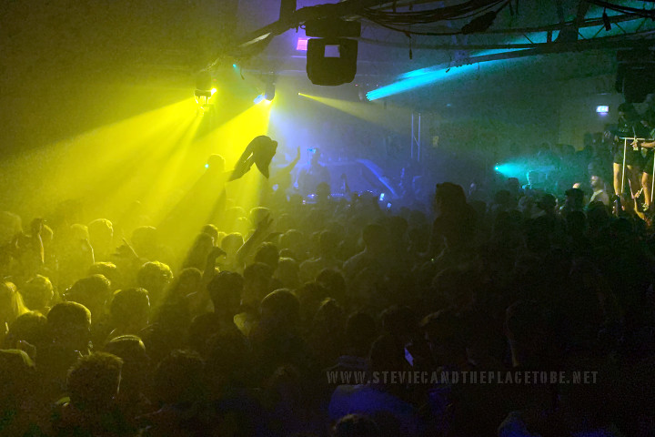 Stevie C and Audiowave supplying D&B PA and lighting with DMX control for a Rhumba-esque rave in The Ice Factory Perth