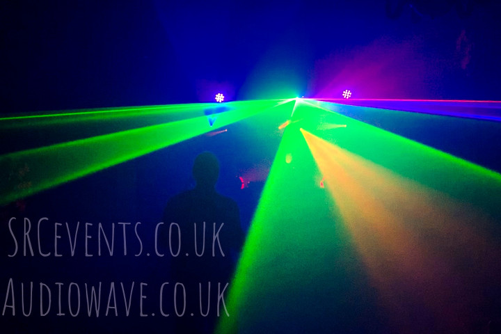 Besty Fest 2019 held in Mains Castle Dundee. Sound, stage and lighting system supplied by SRC Events and Audiowave sound hire. D&B PA, Logic monitors, strobe lights, LED battens and mini moving heads