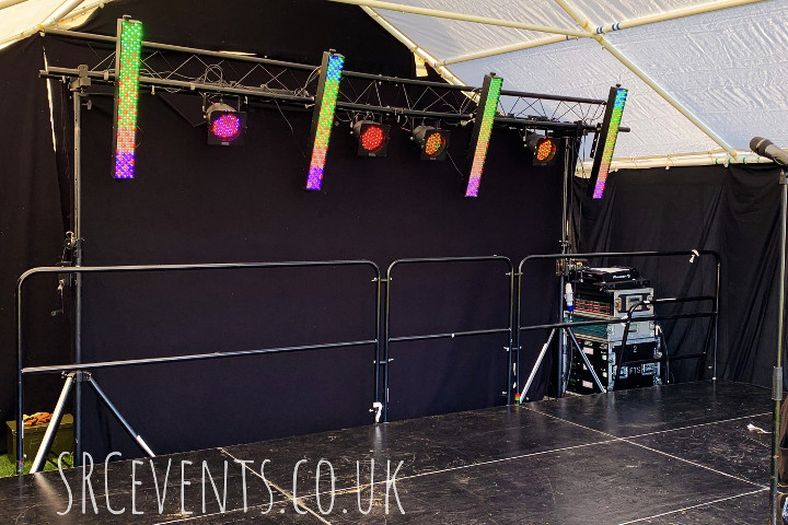 Dundee Pride 2019. Queer Stage PA supplied by audiowave.co.uk, lighting programmed by Stevie C :)