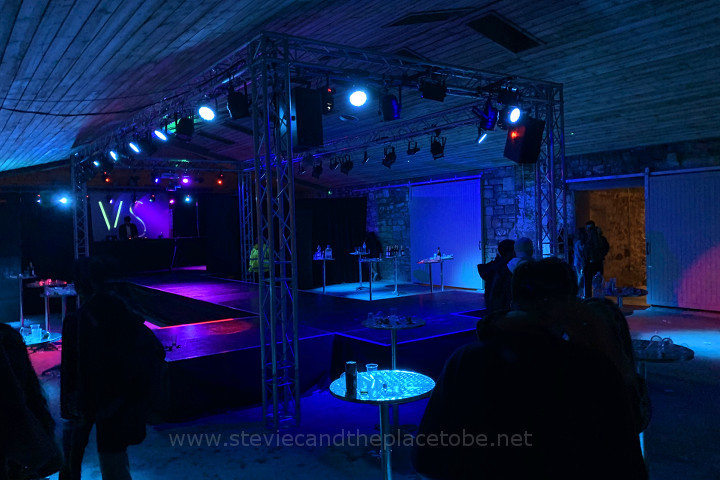 Audiowave.co.uk & GIGGED Productions supplied PA, Lighting, Stage, DJ Decks, Projectors, Truss and Drapes for a charity Fashion Show organised by students in St Andrews