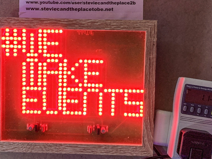 #WeMakeEvents - the custom LED PCB sign