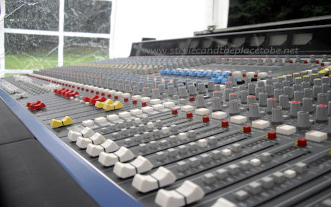 live sound, pa system setup and derig crew for bands, DJs, awards shows and conferences - including soldering and maintenance
