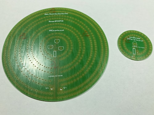 Bonsai PCB base - a power marshalling PCB for all the flower stems