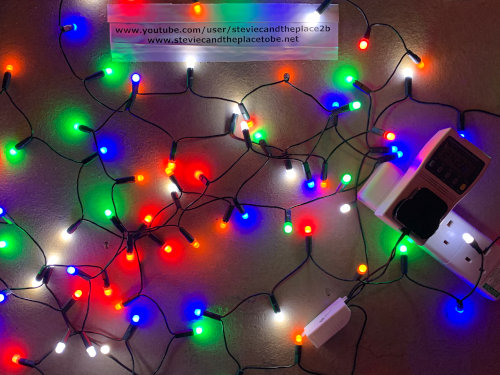 I convert old burned out tungsten fairy lights into custom LED ones