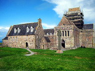 Front view of Iona Abbey